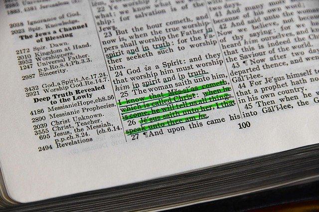menor versículo da Bíblia